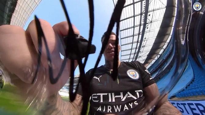 Image d'aperçu pour Le maillot extérieur 2021-22 de Manchester City