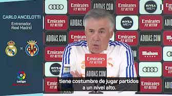 """Imagen de vista previa para Ancelotti, en titulares: """"Benzema es como el vino"""""""