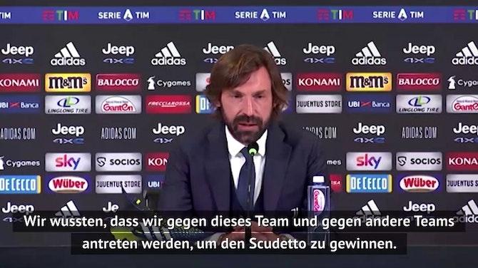 """Vorschaubild für Pirlo macht sich """"keine Sorgen"""" über Titelgewinn"""