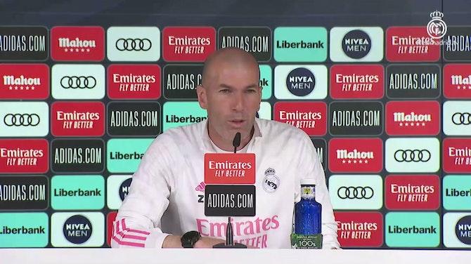 """Zidane: """"A veces tienes que irte por el bien de todos"""""""