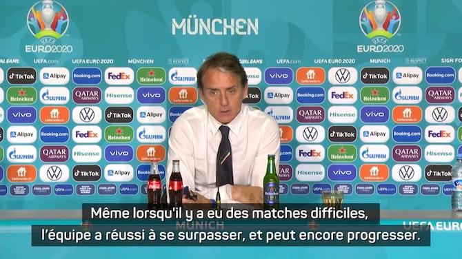 """Image d'aperçu pour Quarts - Mancini : """"Nous pouvons encore faire mieux"""""""