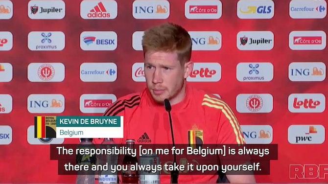 De Bruyne on burden for Belgium, City heartache and winning the Euros