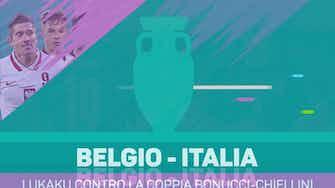 Anteprima immagine per Il talismano Lukaku contro la fortezza Chiellini-Bonucci