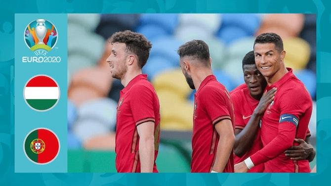 EM-Highlights: Ronaldo dreht spät auf! Portugal schlägt tapfere Ungarn