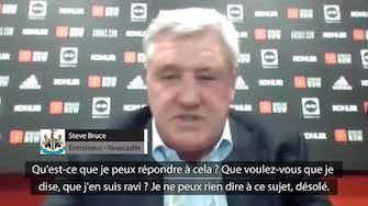 Image d'aperçu pour Newcastle - Bruce furieux après une question sur ses vacances