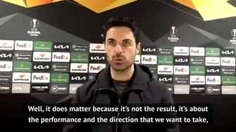 Preview image for Spurs exit 'shows the level' of Europa League - Arteta