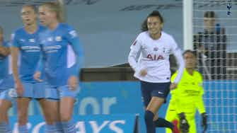 Preview image for Spurs Women record first every victory over Man City