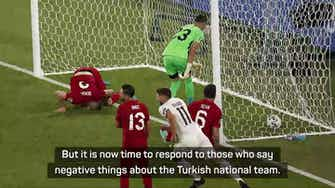 Preview image for Gunes defend Turkey after Italy defeat