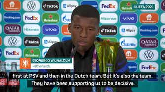 Preview image for Wijnaldum insists Dutch threat more than Depay 'special connection'