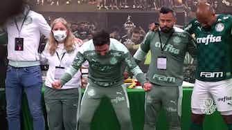 Imagem de visualização para Bastidores do Palmeiras no empate com o Galo na semi da Libertadores