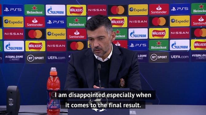 Conceicao 'proud' of Porto despite exit against Chelsea