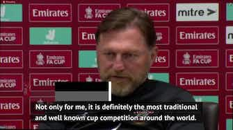 Preview image for Hasenhüttl hopes Saints can perform in 'special' FA Cup