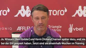 Vorschaubild für Vor CL-Quali in Prag: So plant Kovac mit Volland