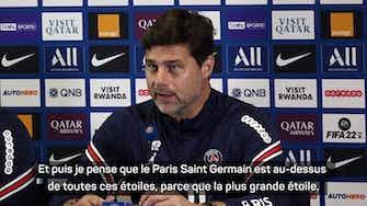 """Image d'aperçu pour PSG - Pochettino : """"Le club est au-dessus de toutes ses stars"""""""