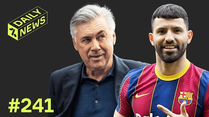 Preview image for Who is Sergio Aguero's replacement at Man City? + Ancelotti RETURNS to Real Madrid!