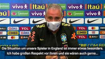 Vorschaubild für Brasilien-Coach Tite beklagt fehlende PL-Spieler