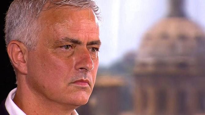 """Vorschaubild für Mourinho startet bei der Roma: """"Titel werden kommen"""""""