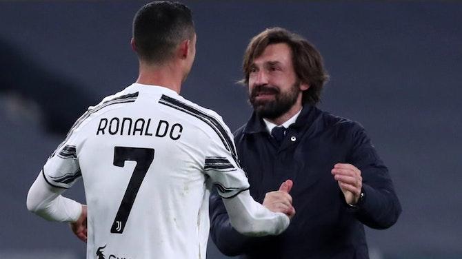 """38e j. - Pirlo : """"Je vois l'avenir de Ronaldo à la Juventus"""""""