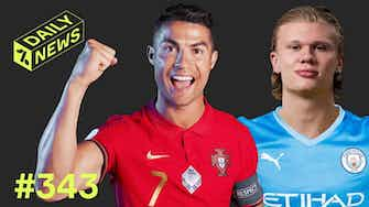 Preview image for Haaland in Man City TALKS + ANOTHER Ronaldo RECORD!