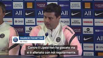 """Anteprima immagine per Pochettino: """"Icardi è forte, noi siamo qui per lui"""""""