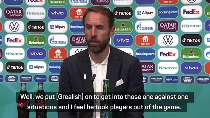 Southgate urges 'realistic' expectations of Grealish after Scotland draw