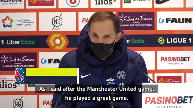 Preview image for Tuchel congratulates Mbappe on 100th PSG goal