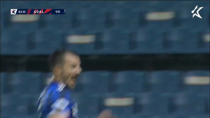 Preview image for Stefan Mugoša thunderous free-kick against Jeju