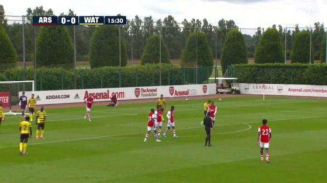 Imagen de vista previa para El Arsenal vence al Watford por 4-1