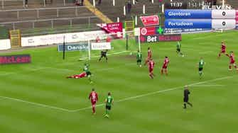 Preview image for Highlights: Glentoran FC 2-2 Portadown FC