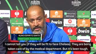 Preview image for Nuno laments further injuries in Tottenham's Conference League draw