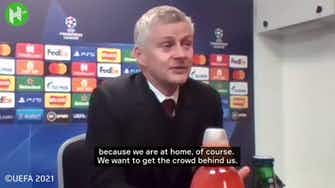 Vorschaubild für Ole Gunnar Solskjaer praises Cristiano Ronaldo work ethic