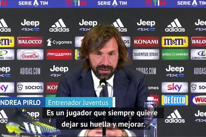 """Cristiano Ronaldo tira la camiseta de la Juventus al suelo, y Pirlo lo defiende: """"No lo voy a multar"""""""