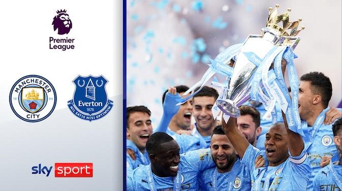 Tor-Festival zur Meisterfeier | Highlights: ManCity - FC Everton 5:0