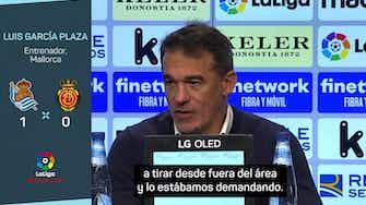 """Imagen de vista previa para Luis García Plaza: """"Nos vamos con cara de tontos, tontos"""""""