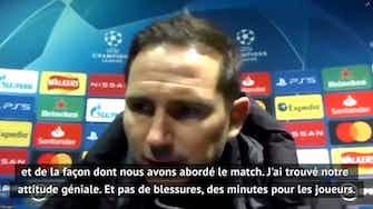 """Image d'aperçu pour Groupe E - Lampard : """"J'ai trouvé notre attitude géniale"""""""