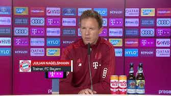 Vorschaubild für Nagelsmann: Nehme Sane nicht 5 Stunden in den Arm
