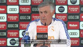 """Imagem de visualização para Carlo Ancelotti: """"Jogo contra o Sheriff feriu nosso orgulho"""""""