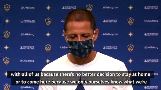Preview image for I respect Vela opting out of MLS tournament - Chicarito