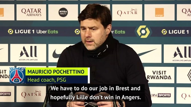 Pochettino urges PSG to 'believe' they can win Ligue 1 title