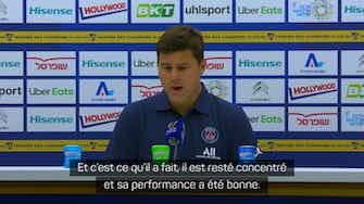 """Image d'aperçu pour PSG - Pochettino : """"La performance d'Hakimi a été bonne malgré les circonstances"""""""