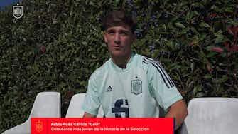 Imagen de vista previa para Gavi, sobre convertirse en el debutante más joven de España