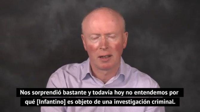"""Bell: """"La FIFA no entiende la investigación criminal contra Infantino"""""""
