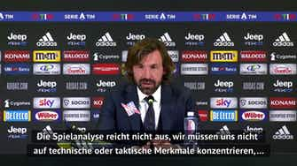 """Vorschaubild für Pirlo nach Benevento-Niederlage: """"Mache mir Sorgen"""""""