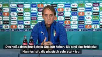 """Vorschaubild für Mancini warnt vor Wales: """"Physisch starkes Team"""""""