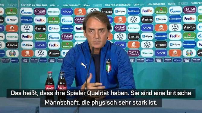 """Mancini warnt vor Wales: """"Physisch starkes Team"""""""