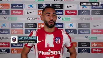 """Imagen de vista previa para Cunha: """"Debutar con el Atlético es un sueño hecho realidad"""""""