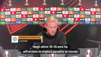 """Anteprima immagine per  Schmeichel conosce il Napoli: """"Hanno esperienza e sanno far male"""""""