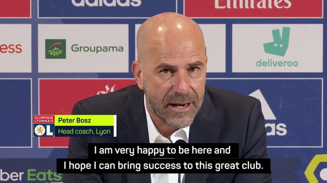 Bosz hoping to do 'something special' with Lyon
