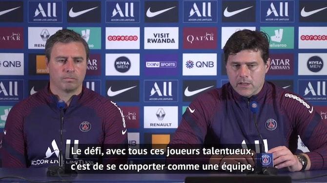 "36e j. - Pochettino : ""Content pour Neymar"""