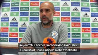 "Image d'aperçu pour 4e j. - Guardiola : ""Bernardo Silva a vraiment bien joué"""